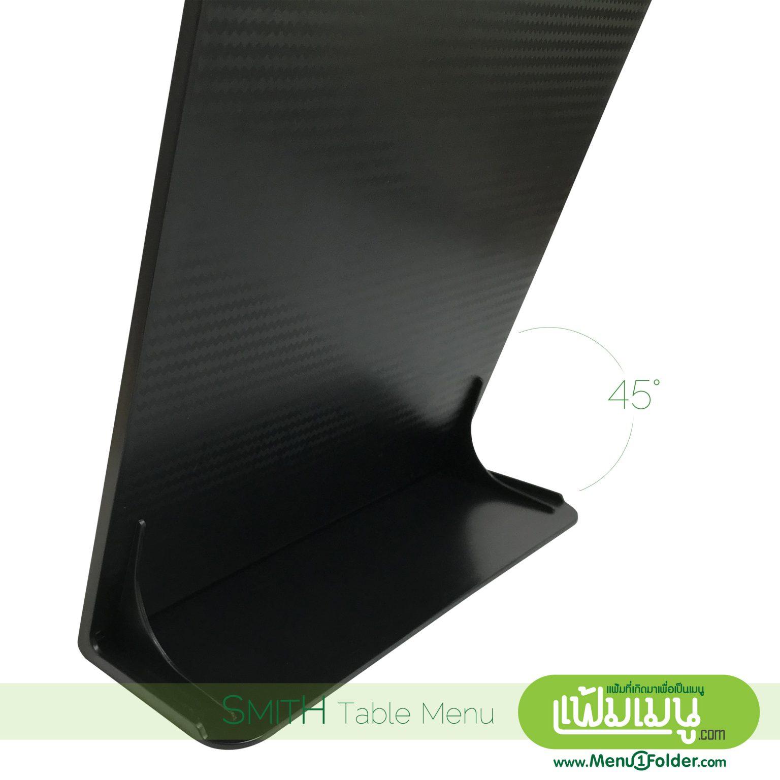 บอร์ดตั้งโต๊ะสีดำ เงา A4 ดีไซน์ สวย