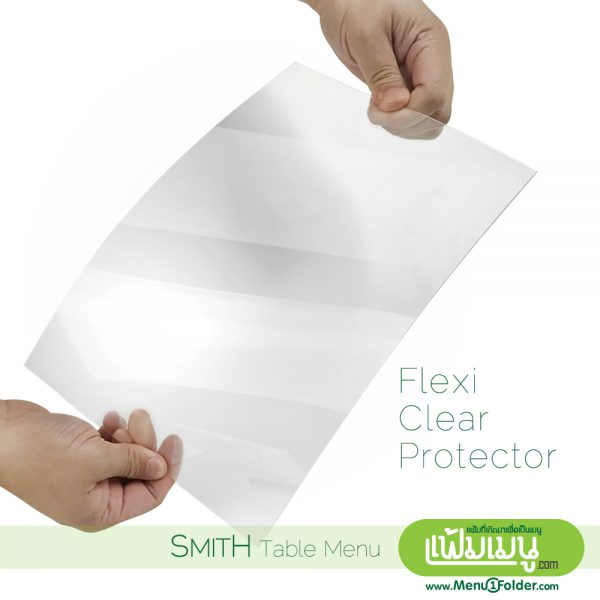Flexi clear acrylic for table display stand