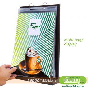 counter menu table A4