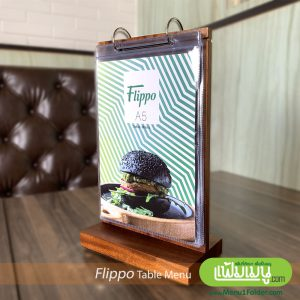 A5 Table Menu Stand
