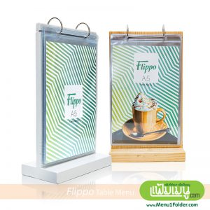 Table Menu Stand Size A5