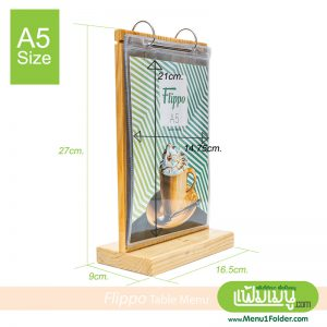 T-Stand A5 Table Menu