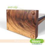 Flippo Wood Table Menu with Anti-Slip