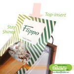 Flippo Wood Table Menu - Top Insert