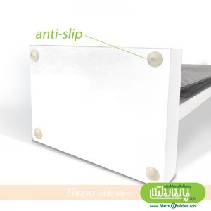 Table Menu Flippo - Anti-Slip